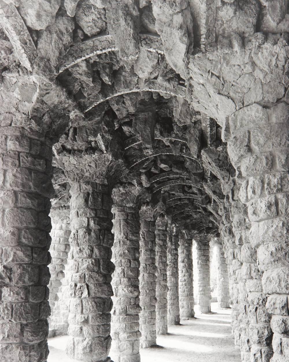 Gaudi Pillars (Park Güell, Barcelona, Spain)