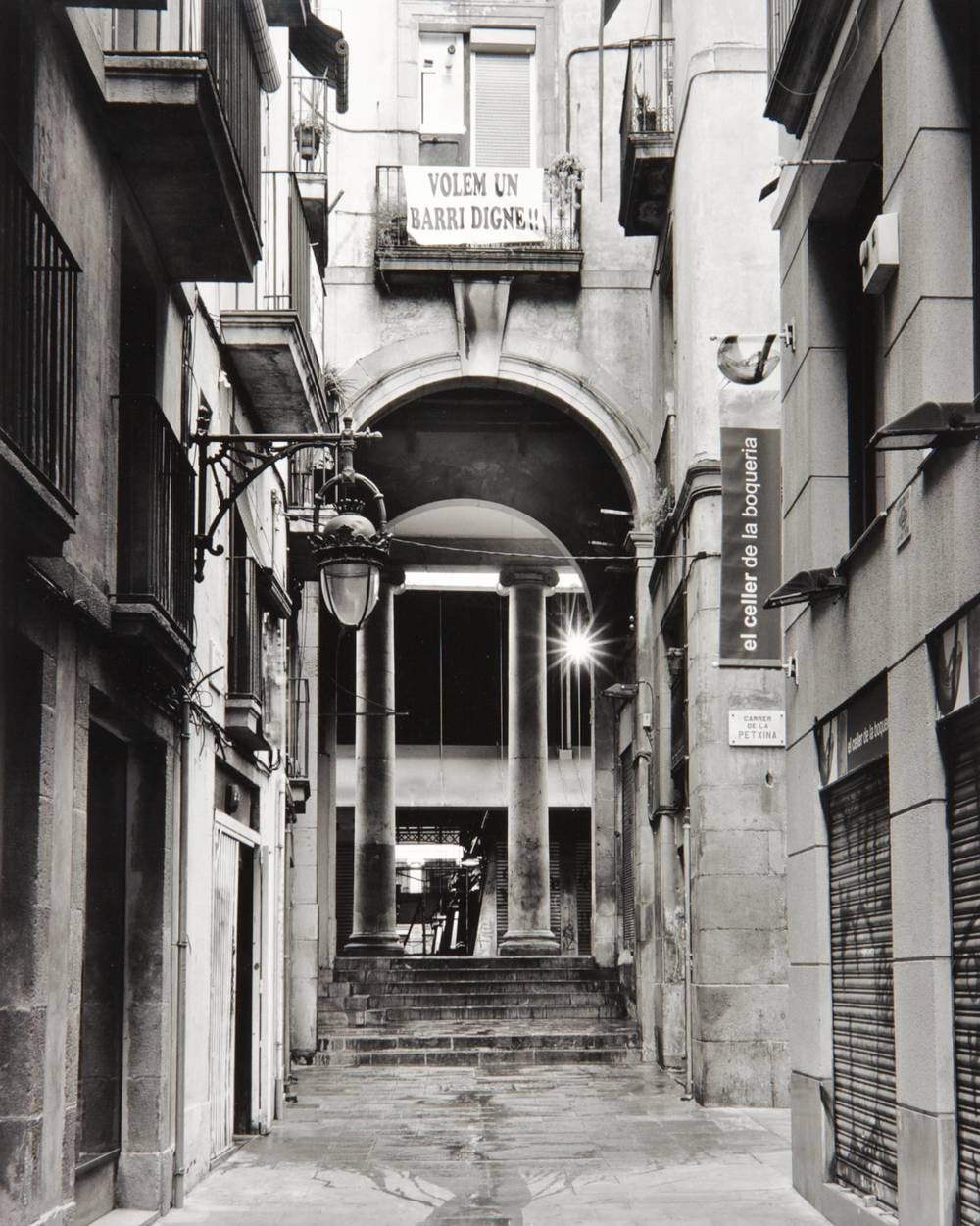 Passage in Barcelona (Spain)