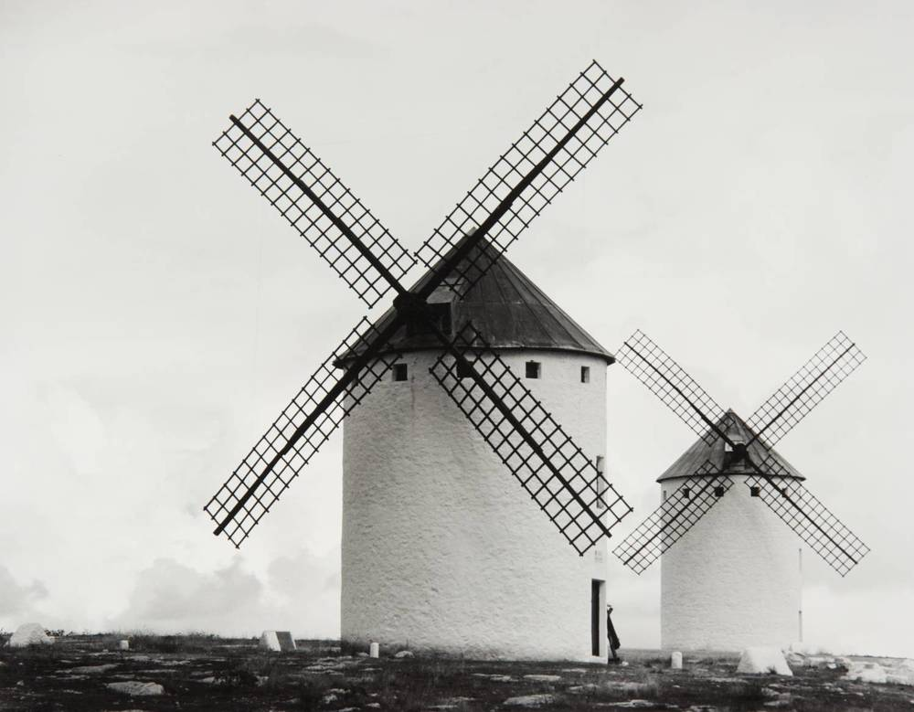 Windmills of La Mancha (Campo de Criptana, Spain)
