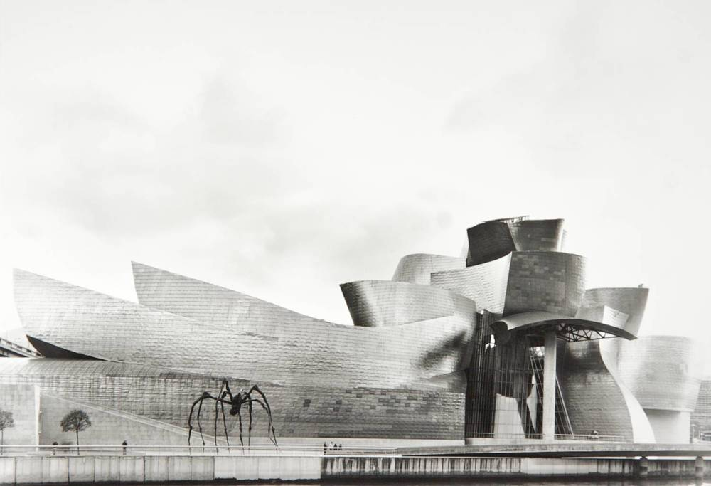 Sky Over Guggenheim (Bilbao, Spain)