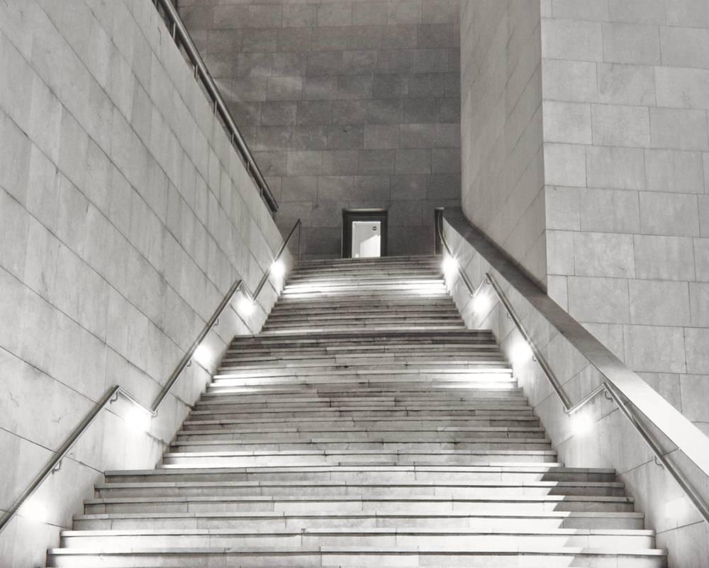 Guggenheim Night Stairs (Bilbao, Spain)