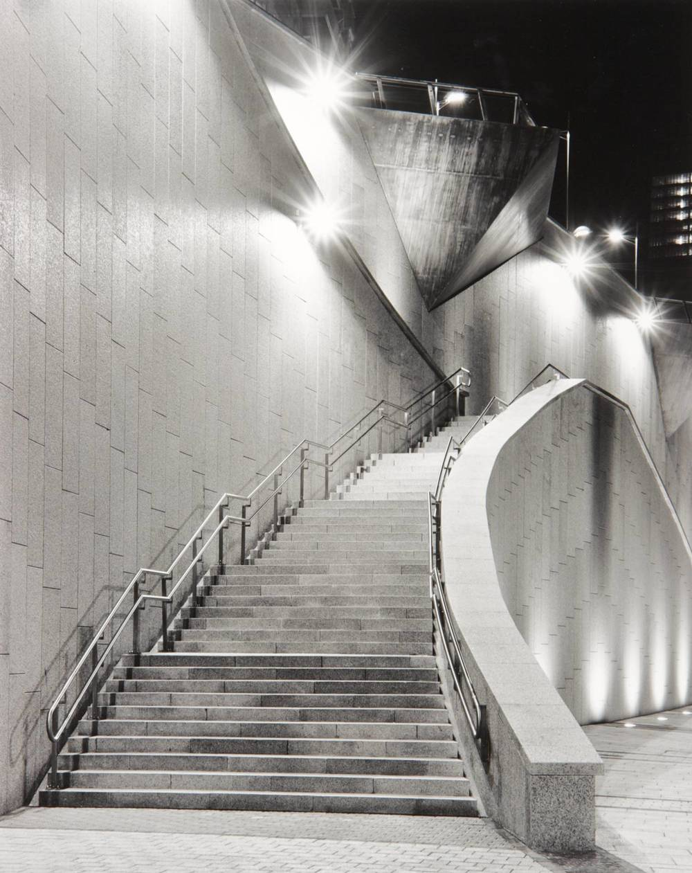 Night Stairs (Bilbao, Spain)