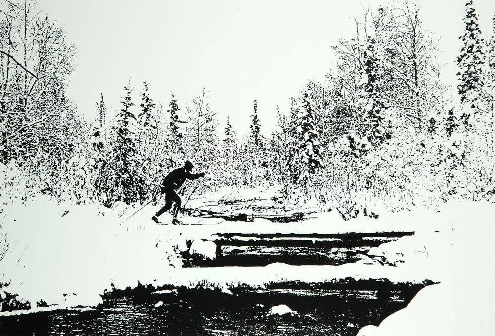Cross Country Skier (Alaska)