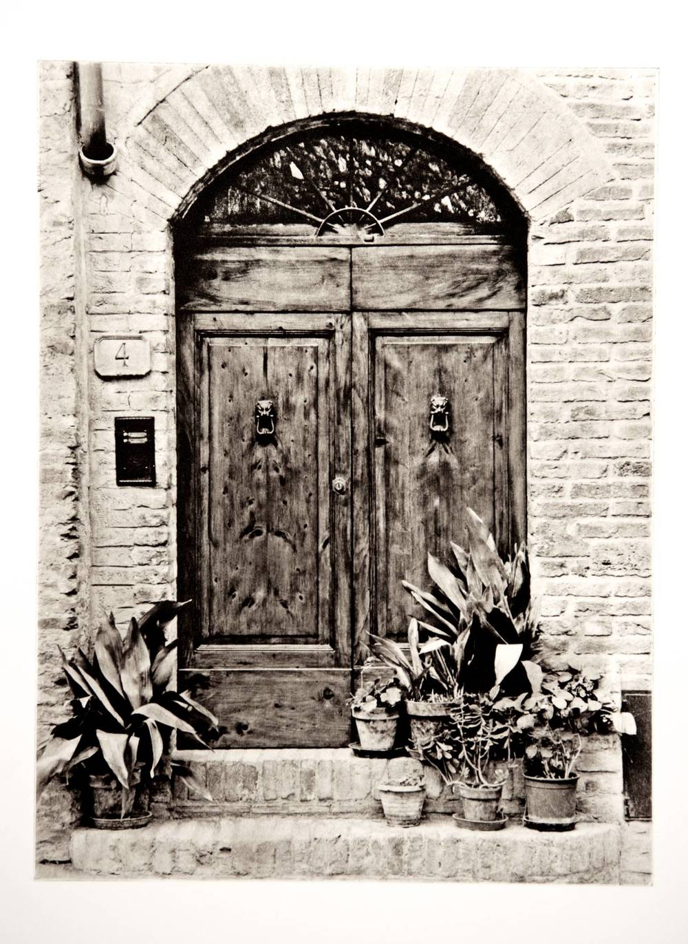 Doors at Via San Stefano, San Gimignano (Italy)