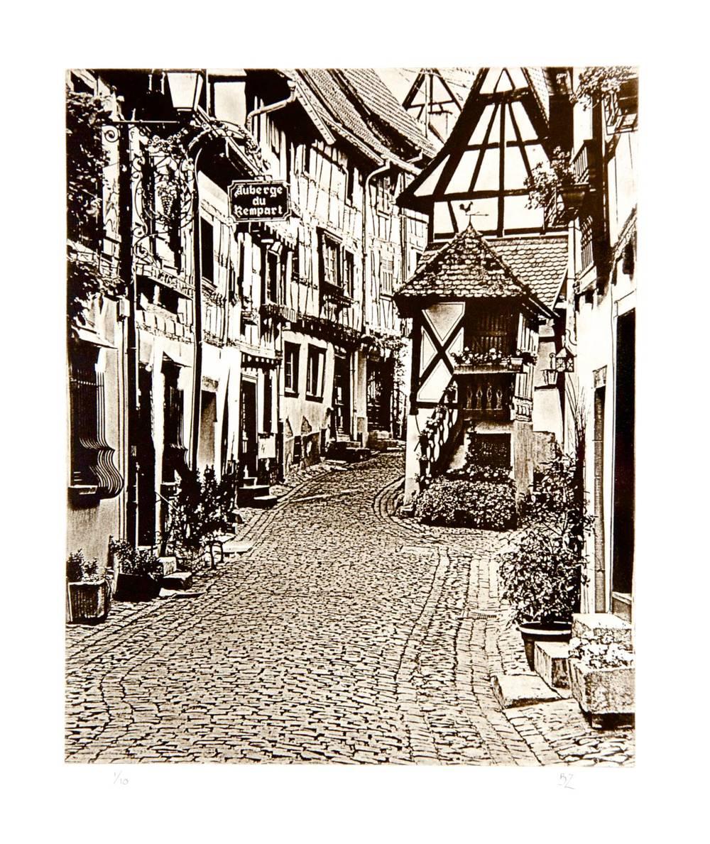 Street in Eguisheim (France)