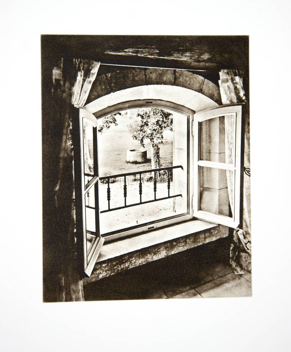 Window at Mas de Mouret (France)