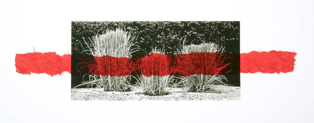 Grass chine-collé (red)