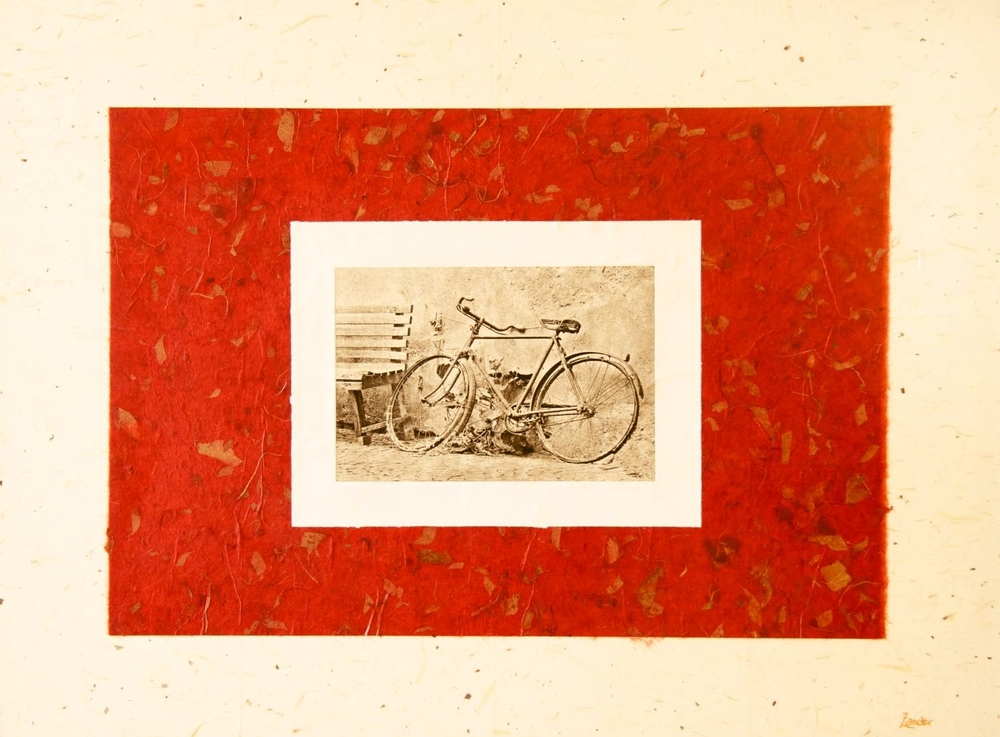 "Bicycle (Italy) 37""x47"""