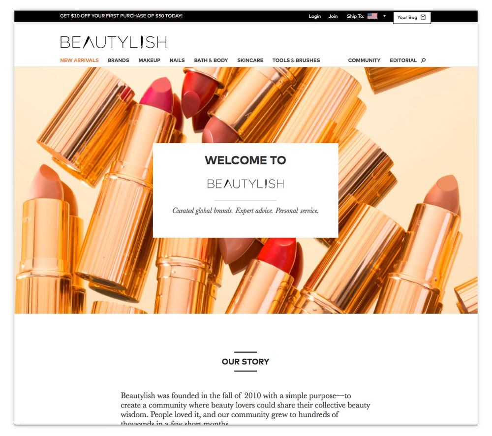 Visit the Beautylish  About page  to get the full story!