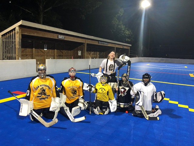 Team Pittsburgh hosted a goalie clinic on Friday September 14th. The clinic was well received and future clinics for forwards, defensemen and goalies are being planned.
