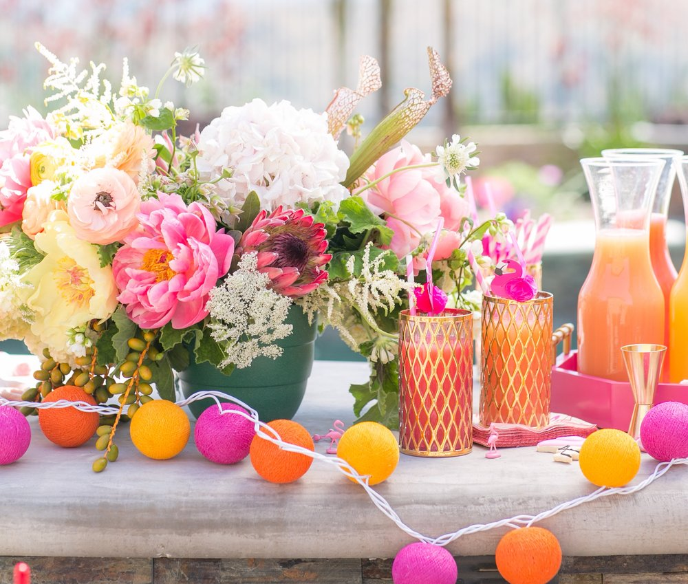 Pretty In Pink Pool Party | Martha Stewart