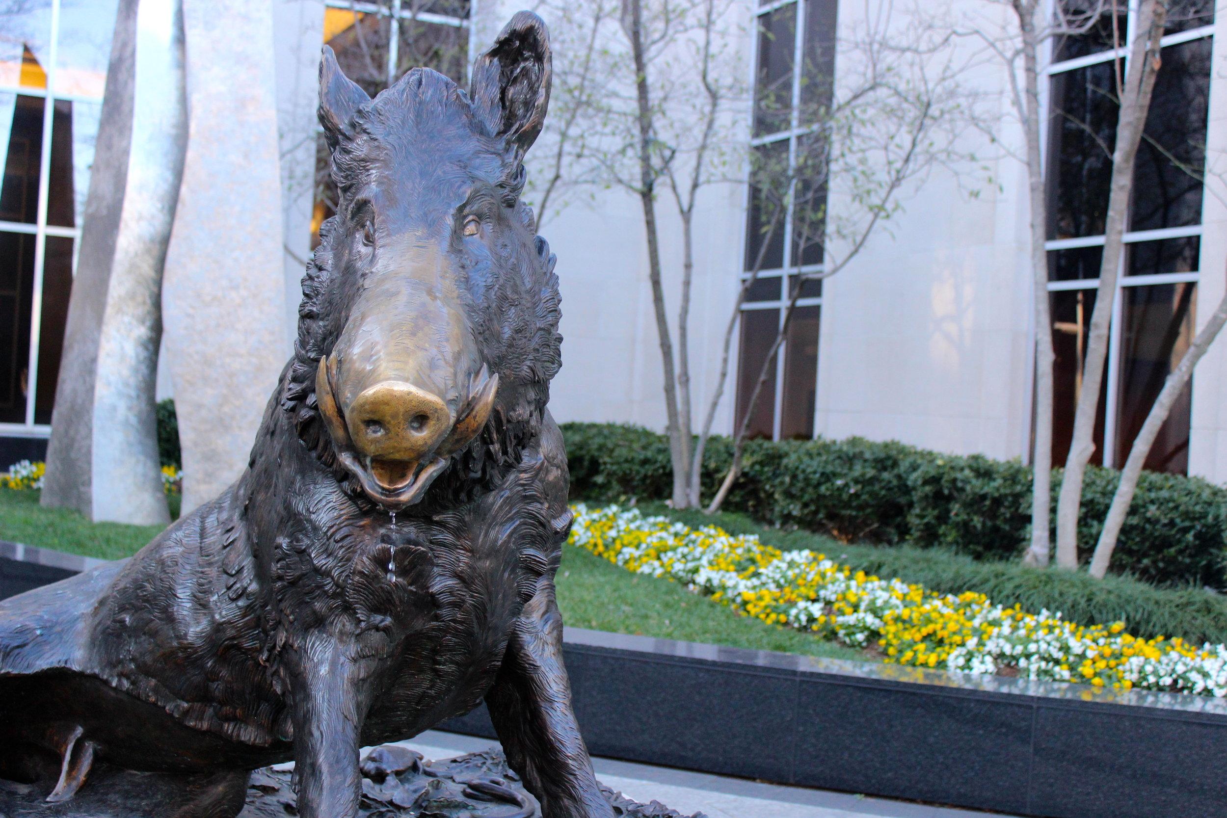 Greenville Statue