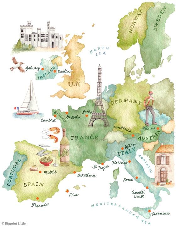 Europe Print