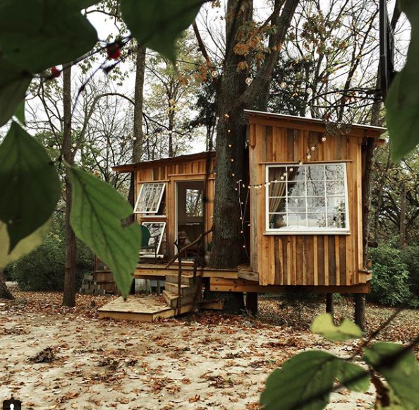 This  wasn't the cabin I rented, but isn't it cute? PSA: You will not finish your novel here.