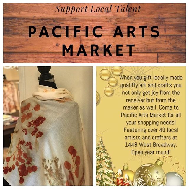 Just in case you are still running around for that perfect gift, I wanted to let you know that ALL my work is 25% off at Pacific Arts Market so hurry in and Merry Christmas!#pacificartsmarket @pacific_arts_market #madeinvancouver #vancouvermakers #shopvancouver #southgranville #vancouverevents #yvrartist