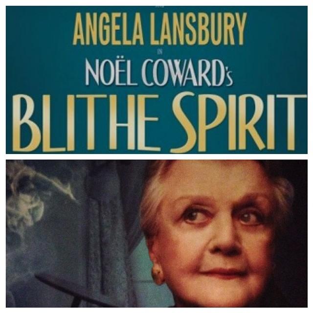 I got to fulfill a lifelong dream of seeing Angela Lansbury on stage tonight. #GayNightAtTheTheatre