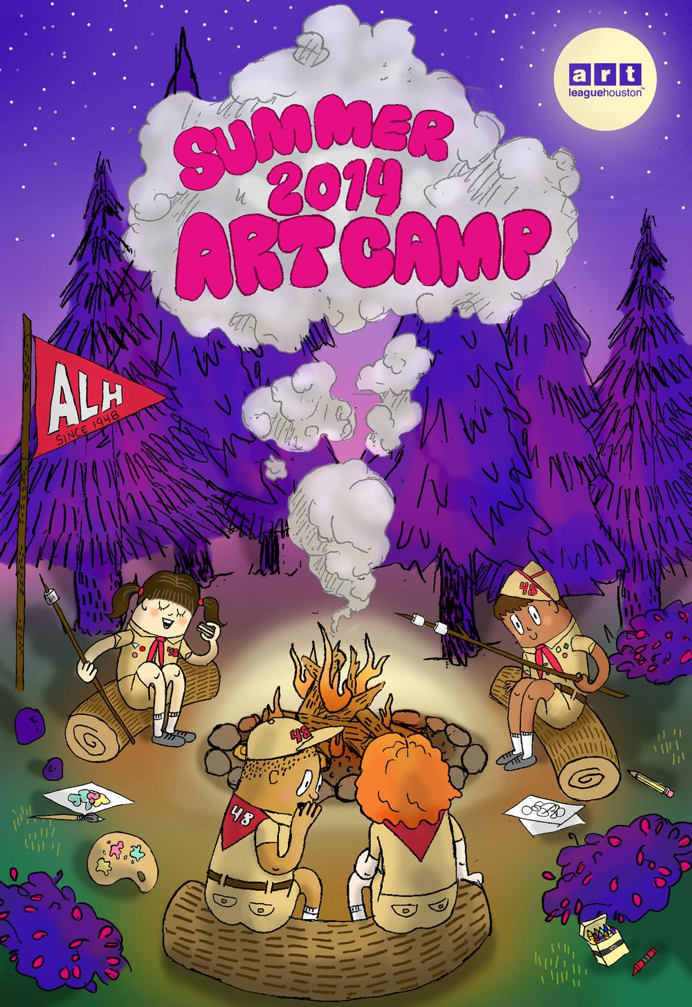 Kids Summer Art Camps 2014