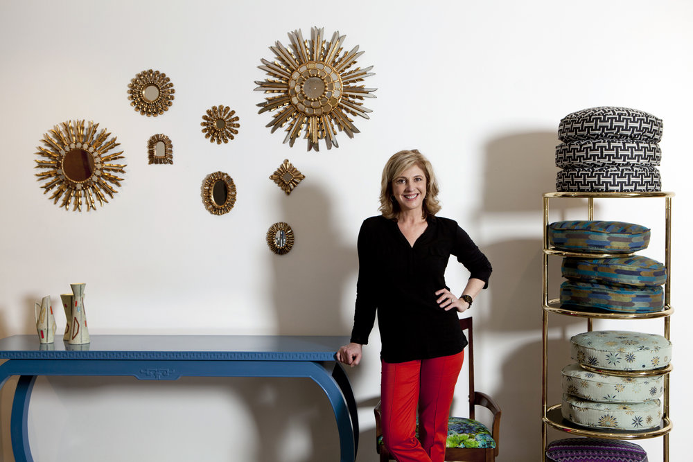 Portrait of Lynn Goode at Lynn Goode Vintage by Jenny Antill