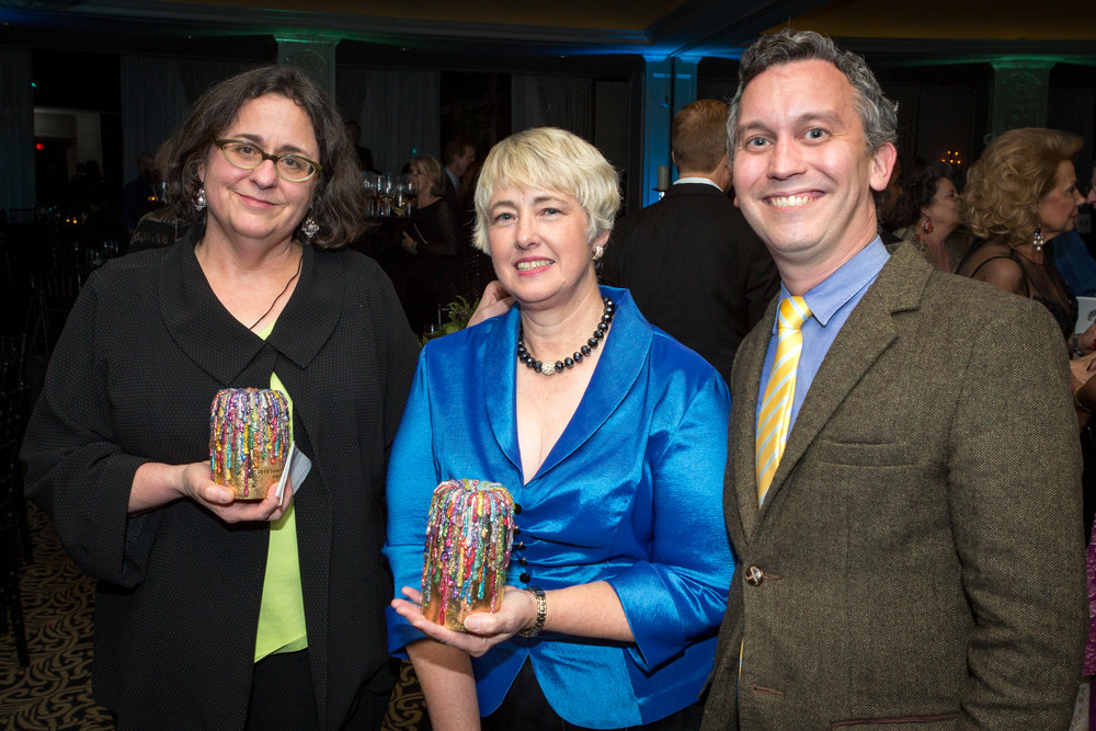 Amy Blakemore-2015 Texas Artist of the Year_The Honorable Mayor Annise Parker-2015 Texas Patron of the Year_Dean Daderko.jpg