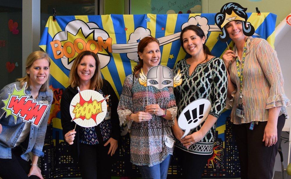 Kellie, Shalese, Maureen, myself and Melissa.JPG