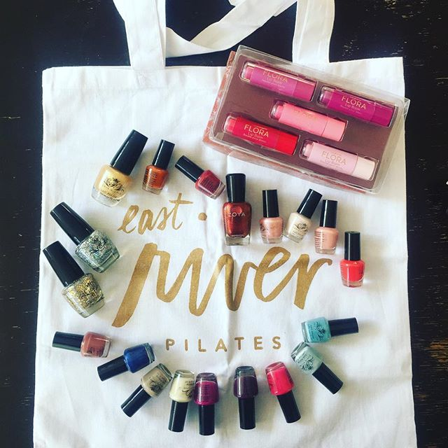 Thank you to @eastriverpilates for their nail polish drive! The tiny bottles are perfect for #Queenforaday