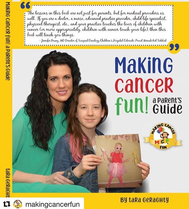 Our friends at @makingcancerfun launched their one-of-a-kind resource today: a parent's guide to making cancer fun. By reframing the experience, this guide shows you how to....well, make cancer fun. We're thrilled for Tara and for the families that will benefit from her wisdom.  #Repost @makingcancerfun with @get_repost ・・・ 🎗#makingcancerfun is LIVE TODAY!! 🎗 . It's a BODO sale! Buy one DONATE one!Spread the word and subscribe at www.makingcancerfun.com (Link in Bio) to be in the know! . . . If you or someone you know is touched by Childhood Cancer as a Miracle Kid or Health Care Provider or is Making Cancer Fun in their own wonderful way.. please tag us #MakingCancerFun @MakingCancerFun . #mcfmiraclekid #cancer #parenting #nurse #oncology #momlife #neuroblastoma #chemo #bmt #kids #instakids #pediatrics #childlife #mom #leukemia #childhoodcancer #hospital #chemotherapy #doctor #tumor