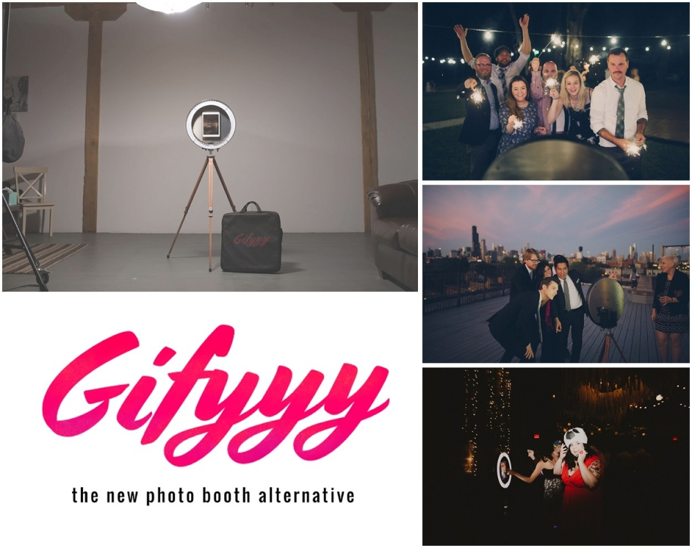 Want to have the coolest photo booth on the planet at your wedding? We now offer Gifyyy, the animated gif photo booth. This awesome photo booth is simple and fun! It allows your guests to create gifs and then have them sent to their phones so they can share them on social media!  Check out this video to see just how awesome Gifyyy would be at your wedding!