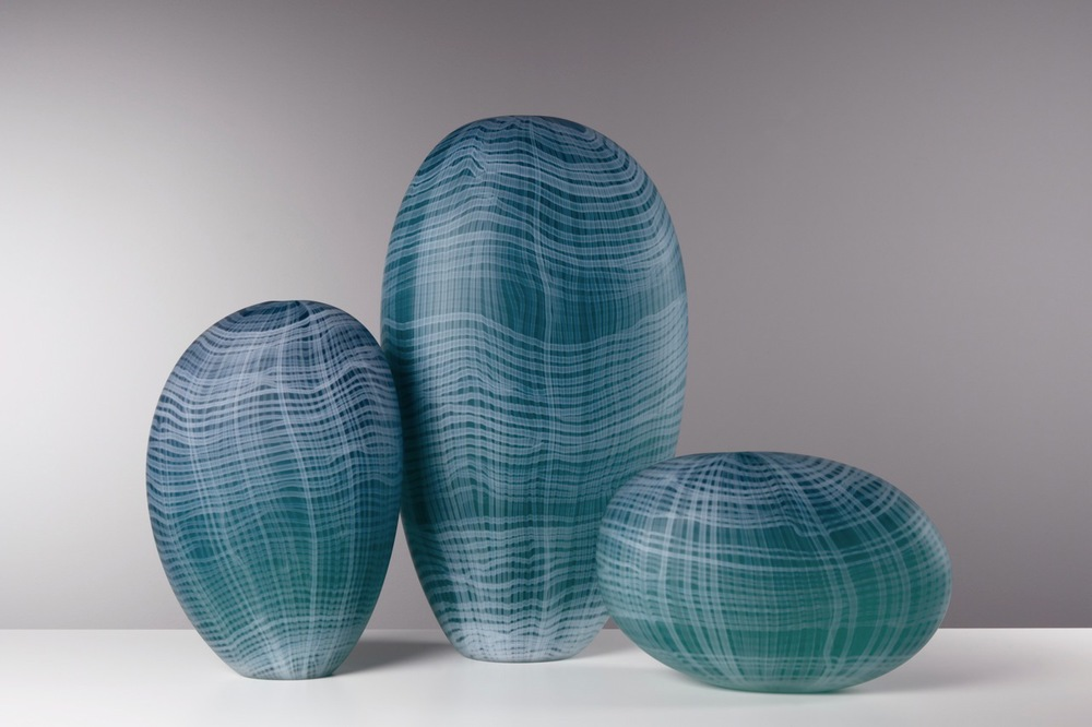 Trio in Teal, 2014