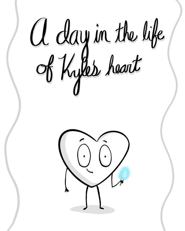 A day in the life of my heart. Part 1/4 (Swipe for more of the story) #becausecharacters
