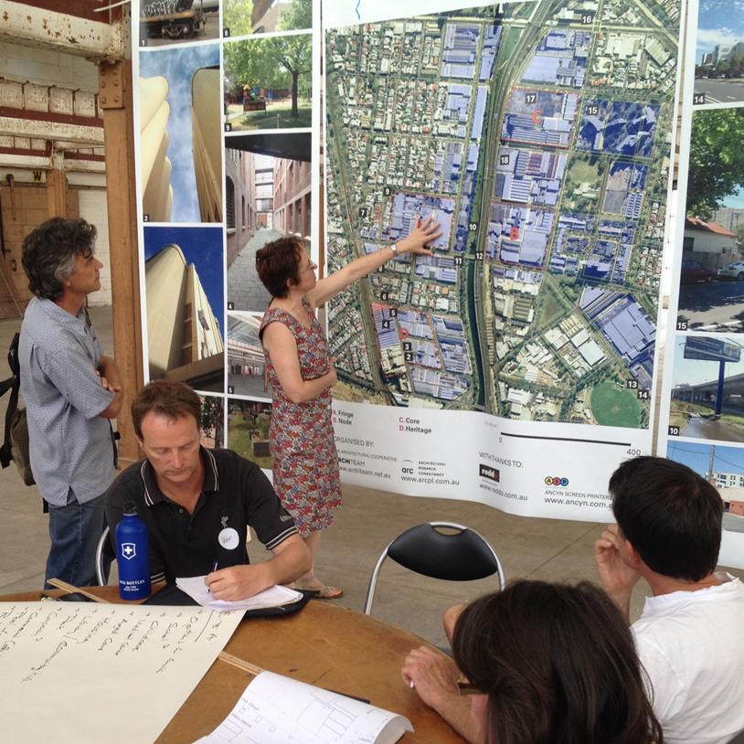 Arden Macaulay Planning Workshop Photo: IMPA