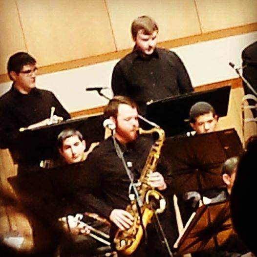 Soloing with SHSU Jazz Ensemble