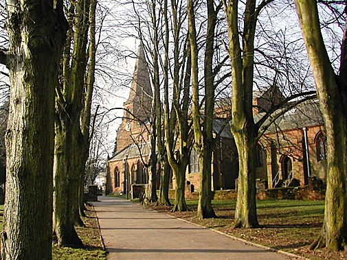 "St Nicholas Church, Kenilworth  Set In the heart of ""old"" Kenilworth and offering a tranquil ""leafy"" environment for a wedding within the historic town."