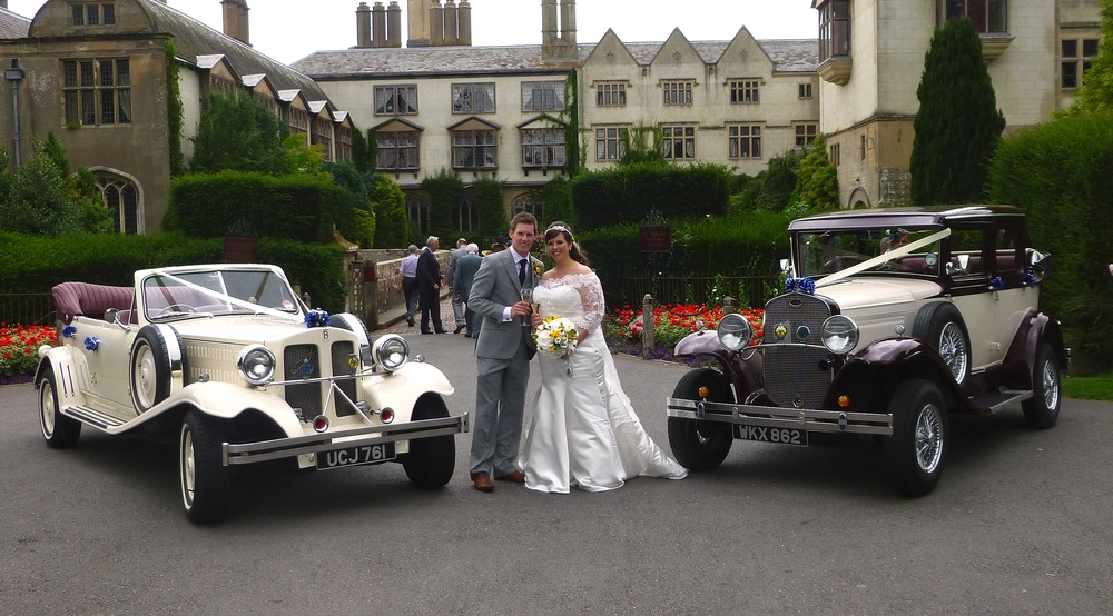 Katy and Matthew arrive at Coombe Abbey and manage to take some photographs before the rain!