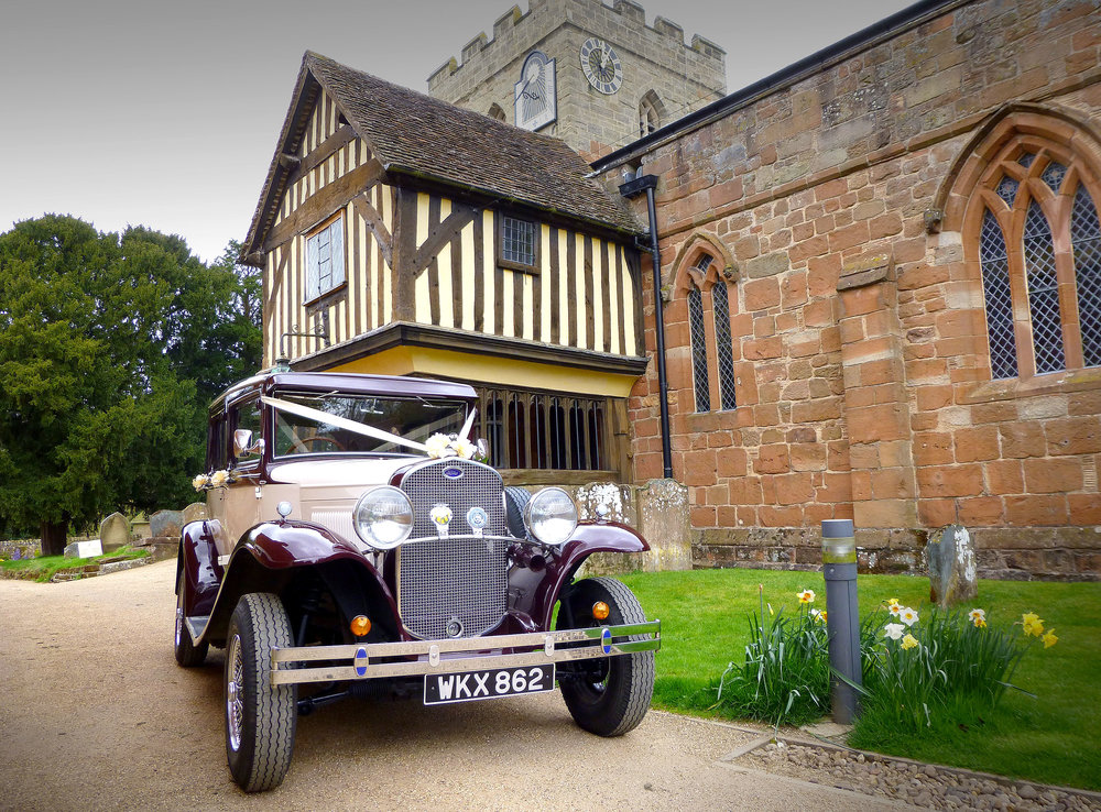 Our Location. - We are based in Burbage in Leicestershire and provide our wedding car service in and around the surrounding villages, towns and cities.We cover a 25 miles radius which includes most of Leicestershire, Warwickshire, Leicester and Coventry.If you are unsure if we cover your area please view our coverage map.