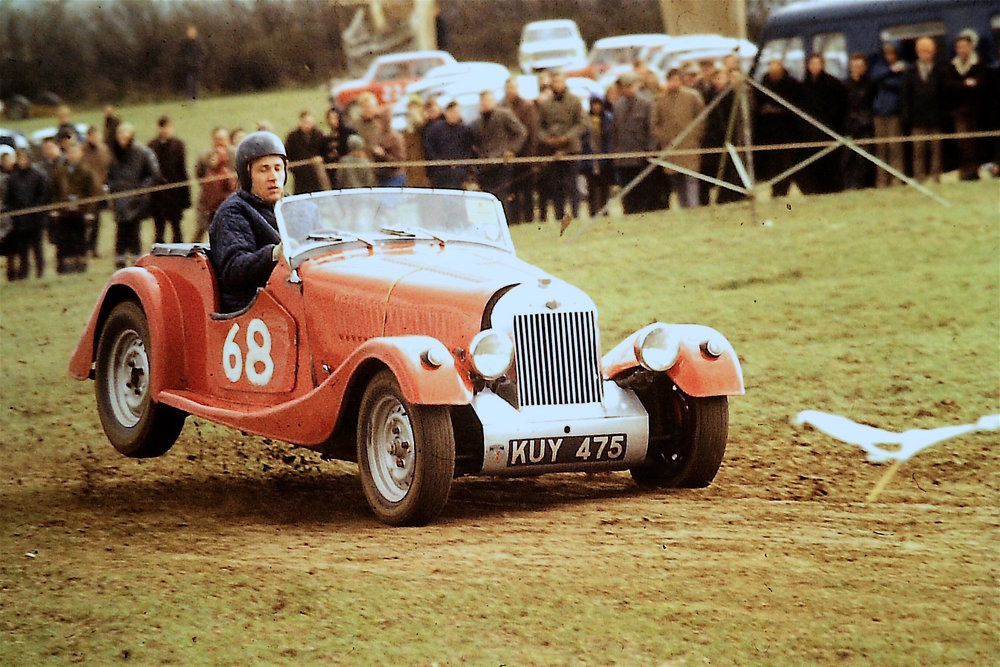 No wonder I still get back ache! Autocross in the 60's