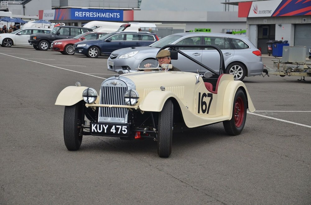 The car has now been returned to it's original condition as supplied by Morgan Cars in 1952 by it's new owner. Again racing but to strict unmodified rules.