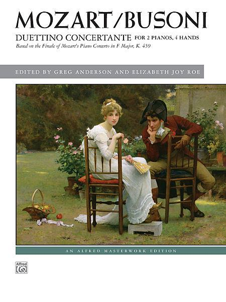 "Alfred's new edition of ""Duettino Concertante,"" edited by Anderson & Roe"