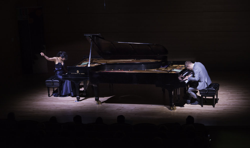 Anderson & Roe at the 2017 Southeastern Piano Festival (photo credit: Michael Bull)