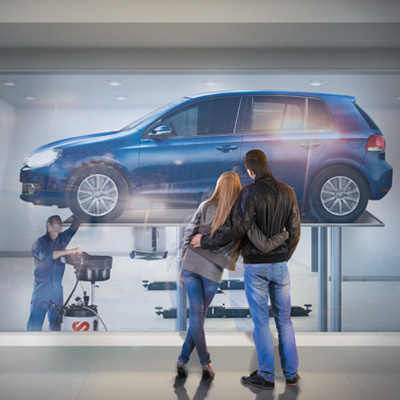 Volkswagen Print-Design/Composing