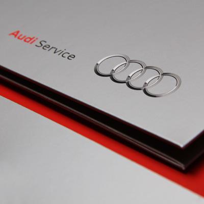 Audi - Print-Design/Composing