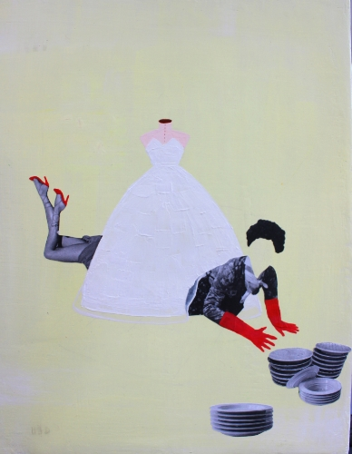 "SNEAK PEEK: August 2014 featured artist Lee Su Youn ""After Marriage The Reality""."