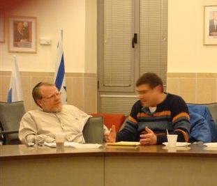 DavidSchor and Shmuel Goldstein.JPG