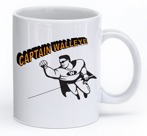 Captain Walleye Fishing Ceramic Cup Fish Face