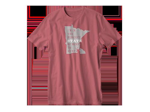 Buck Hunting Shirt | Perfect State to Hunt Minnesota | Fish Face ®