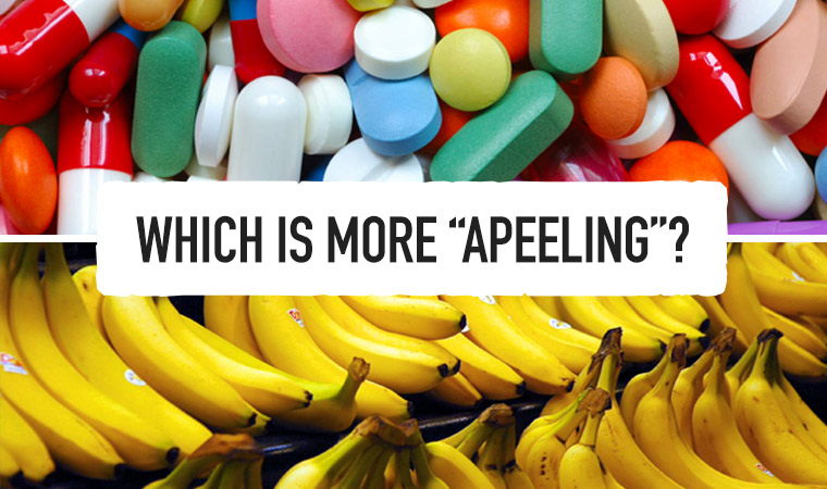 Yes I know Apeeling is not spelt that way, its a joke! haha