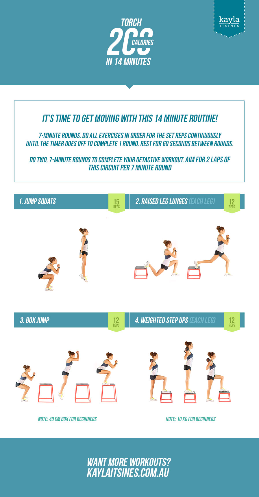 Torch 200 Calories in 14 Minutes