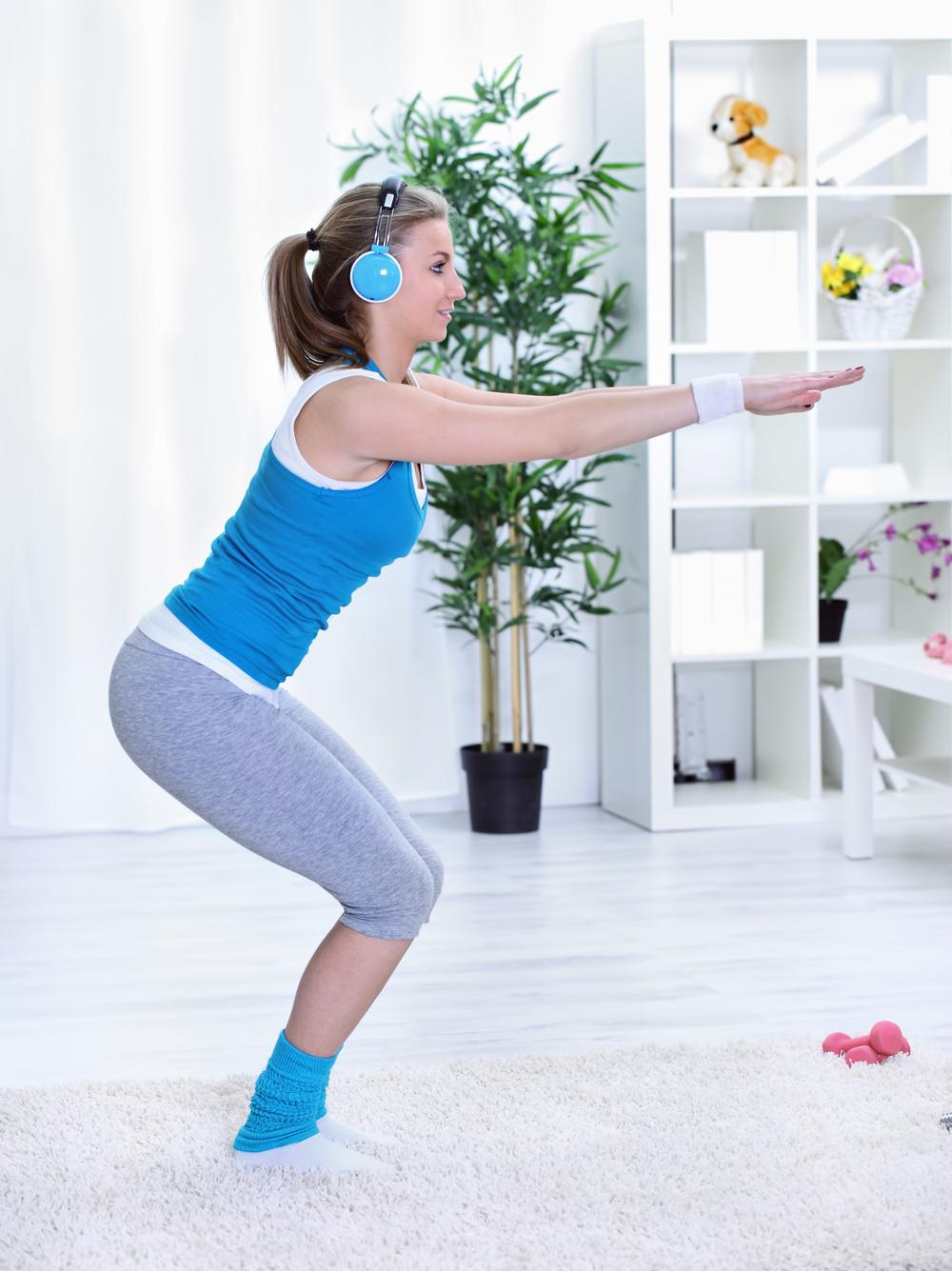 Как похудеть в домашних условиях на