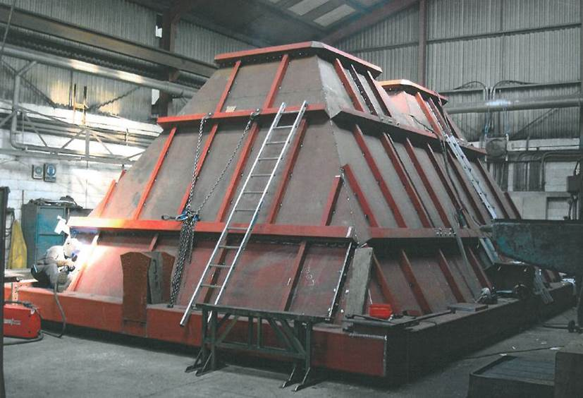 Hopper fabrication DOCKSOLID
