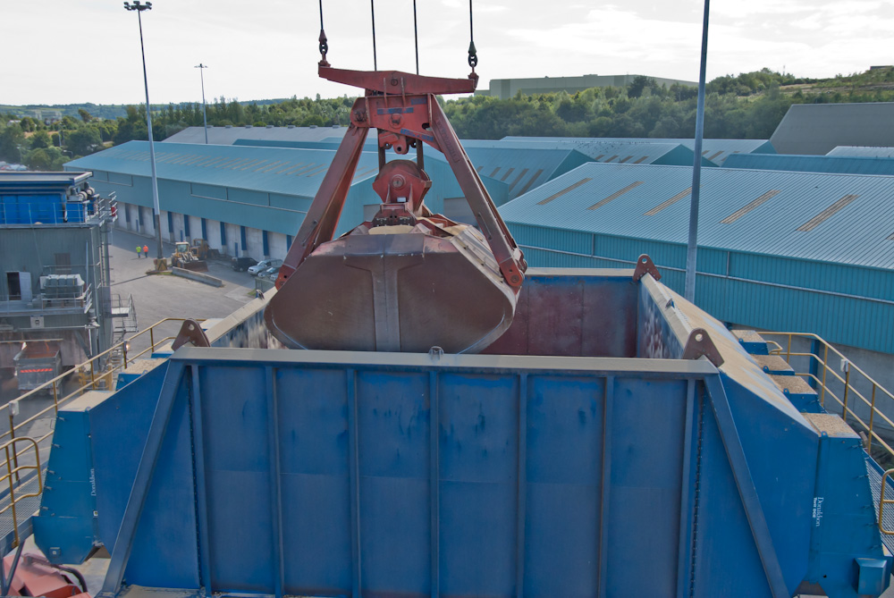 DOCKSOLID dust control Eco-hopper Environmental hopper