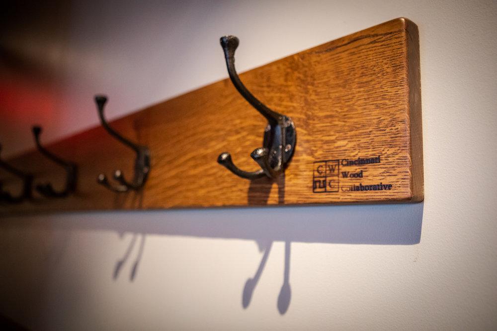 coat hook assemblies (coat hooks by E&I)